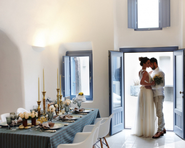 Elegant wedding in Greece